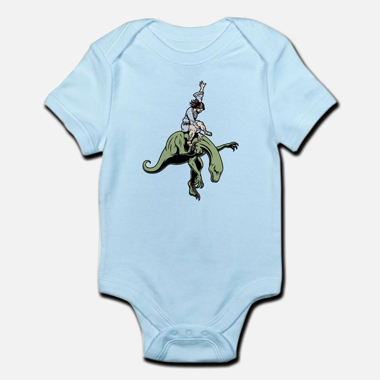 Raptor Rodeo Jesus Infant Bodysuit