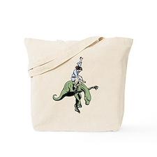 Raptor Rodeo Jesus Tote Bag