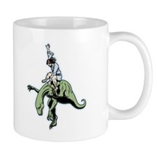 Raptor Rodeo Jesus Mug