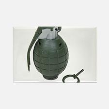 Grenade Rectangle Magnet
