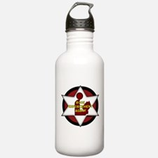 Book Enforcement Agent Water Bottle
