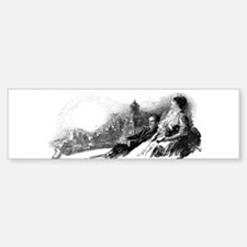 Gil Warzecha - Illustrations Bumper Bumper Sticker