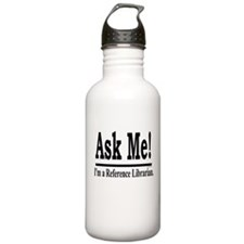 Ask Me! I'm a Reference Libra Water Bottle