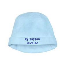My Pappaw Loves Me! (Blue) baby hat
