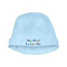 My Mimi Loves Me! (Multi) baby hat