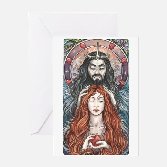 Hades & Persephone Greeting Card