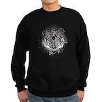 Myeloma Faith Family Cross Sweatshirt (dark)