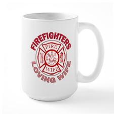 Firefighters Loving Wife Mug