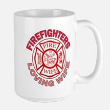 Firefighters Loving Wife Mug