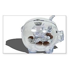 Nickel and Dime Savings Decal