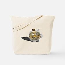 Piggy Bank Gold Coins Tote Bag