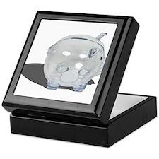 Piggy Bank Profile Keepsake Box