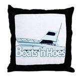 Boats and hoes Cotton Pillows
