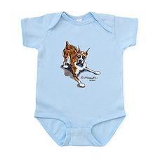 Boxer Lover Infant Bodysuit