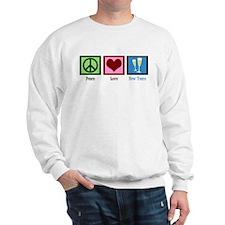 Peace Love New Years Sweatshirt