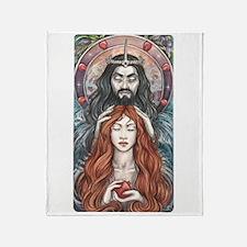 Hades & Persephone Throw Blanket