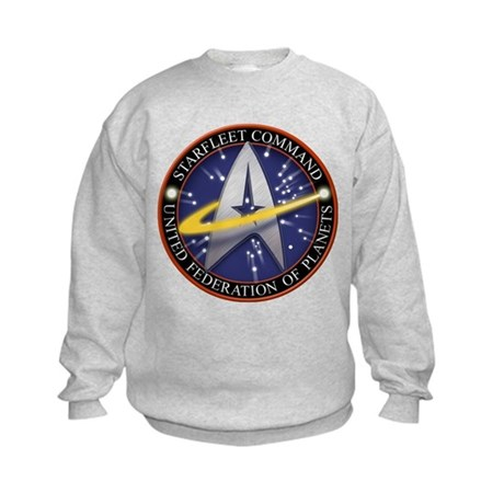 Star Fleet Command 3D Kids Sweatshirt