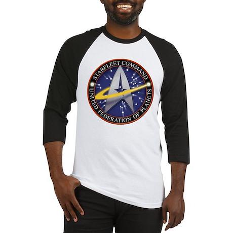 Star Fleet Command 3D Baseball Jersey