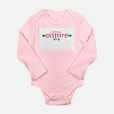 MY LITTLE PISMIRE Long Sleeve Infant Bodysuit