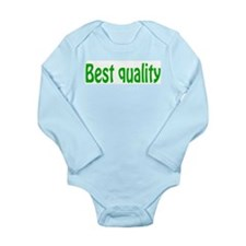 BEST QUALITY Long Sleeve Infant Bodysuit
