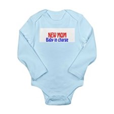 New Mom/Dad Long Sleeve Infant Bodysuit