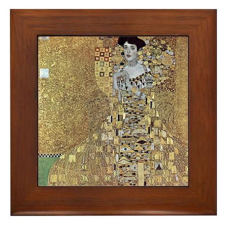 "Klimt's ""Adele"" Framed Tile"