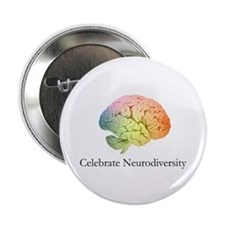 Celebrate Neurodiversity Button