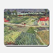 Van Gogh Farm Fields Mousepad