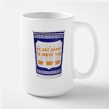 New Yorker Coffee Cup Large Mug