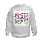 Wet T-shirt Contest Kids Sweatshirt