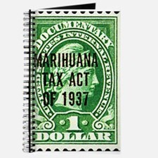 Cannibis Tax Stamp Journal