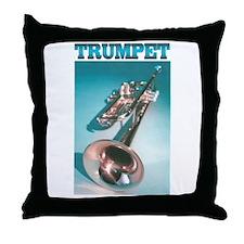 Trumpet Home Decor Throw Pillow