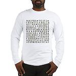 Camo ABCs Long Sleeve T-Shirt