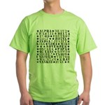Camo ABCs Green T-Shirt