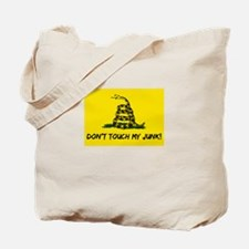 Don't Touch! Tote Bag