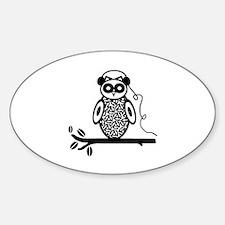 Otis the Owl Decal