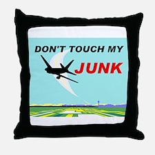 NO TOUCHING Throw Pillow