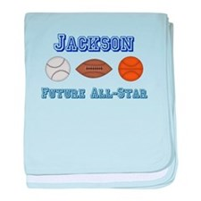 Jackson - Future All-Star baby blanket