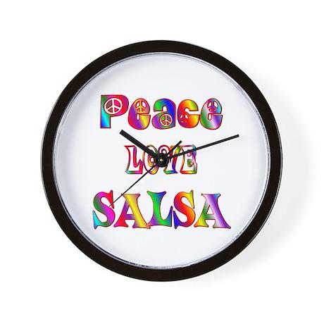 Salsa Wall Clock