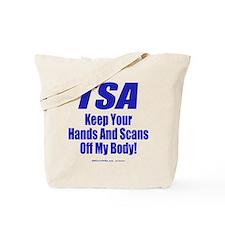 TSA Hands 2-sided Tote Bag