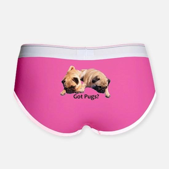 Got Pugs? Women's Boy Brief