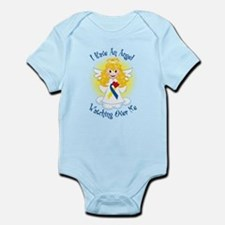 Angel Watching Me Down Syndro Infant Bodysuit