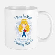 Angel Watching Me Blue Ribbon Mug