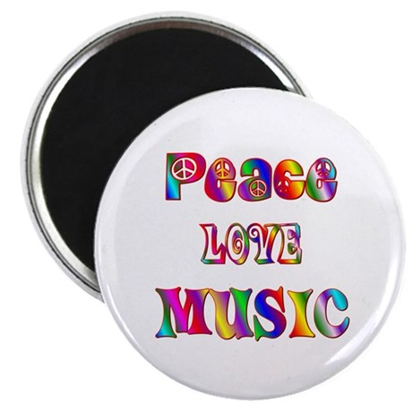 "Music 2.25"" Magnet (100 pack)"