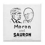 Moron and Sauron Tile Coaster