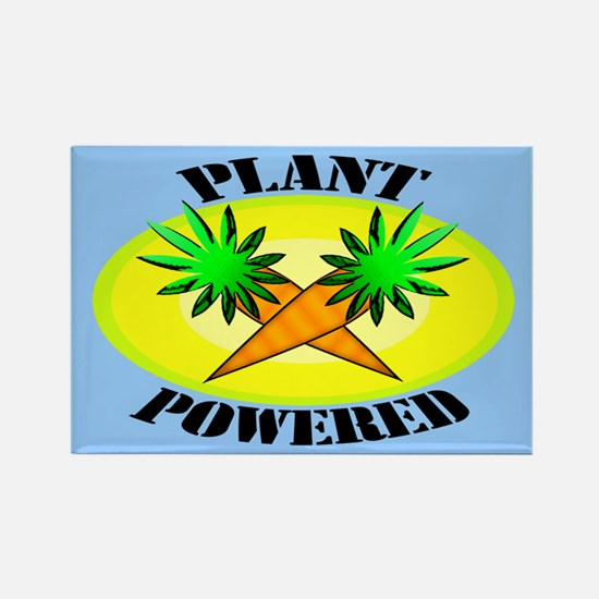 Plant Powered Rectangle Magnet