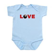 Billiard Love 3 Infant Bodysuit
