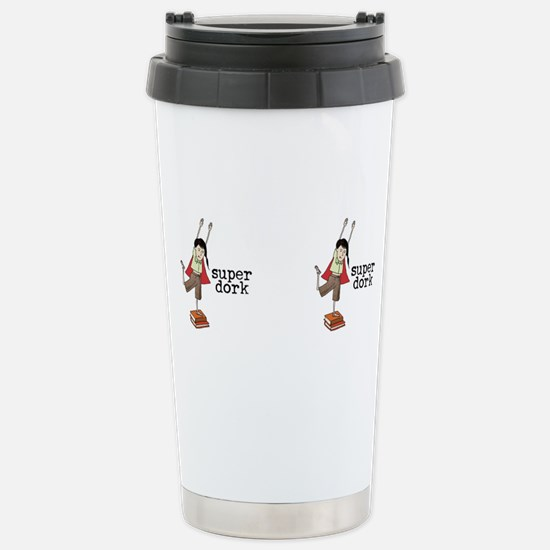 Cute Super girl Travel Mug