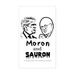 Moron and Sauron Rectangle Sticker