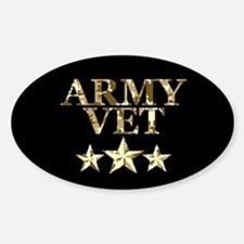 Army Vet 3 Star Camo Decal